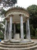Temple of Diana in garden of Villa Borghese. Rome, Stock Photos