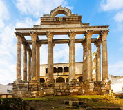 Temple of Diana. Merida Royalty Free Stock Image
