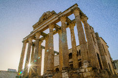 Temple of Diana Royalty Free Stock Photos