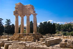 Temple of the Dioscuri, Agrigento Royalty Free Stock Image