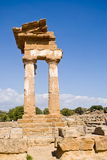 Temple of the Dioscuri, Agrigento Royalty Free Stock Images