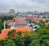 The Temple District of Bankgkok, Thailand Stock Photography