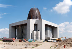 Temple of Divine Providence in Warszawa, Poland, under construct Stock Photos
