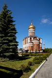 Temple of Dmitry Donskoy, Nizhny Tagil. Russia. Royalty Free Stock Image