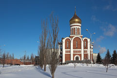 Temple of Dmitry Donskoy, Nizhny Tagil. Sverdlovsk region. Stock Photography
