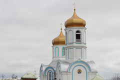 Temple domes Royalty Free Stock Photography