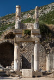 Temple of Domitian in Ephesus Ancient City Royalty Free Stock Photography
