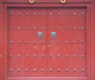 Temple door Stock Images