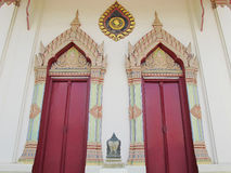 Temple door Royalty Free Stock Photo
