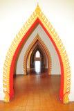 Temple door. Temple decorative door in thailand Stock Images