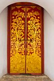 Temple Door Art Stock Photography
