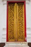 Temple door. stock photography