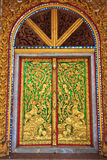 Temple door decorations Royalty Free Stock Images