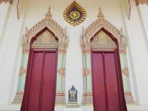 Temple door Stock Image