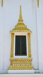 Temple door in Thailand Royalty Free Stock Photo