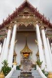 Temple Door. Of Wat dan samrong Thailand royalty free stock photos
