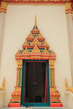 Temple door Royalty Free Stock Photography