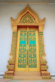 Temple door Royalty Free Stock Image