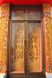 Temple door Royalty Free Stock Photos