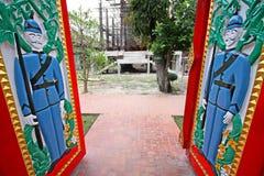 Temple doors Stock Photo