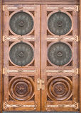 Temple doors Stock Photography