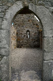Temple of Dowling, Clonmacnoise, Ireland. Temple of Dowling in Clonmacnoise, Ireland Stock Photography
