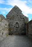 Temple of Dowling, Clonmacnoise, Ireland. Temple of Dowling in Clonmacnoise, Ireland Royalty Free Stock Images