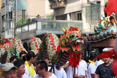 Temple Dragon Stock Photo