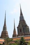 Temple du Bouddha étendu Images stock