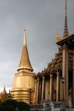 Temple du Bouddha vert Photographie stock