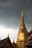 Temple du Bouddha vert Photos libres de droits