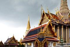 Temple du Bouddha vert Photo stock