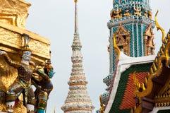 Temple du Bouddha vert Image stock