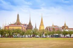 Temple du Bouddha vert (Wat Phra Kaew) - Le CEN historique Photographie stock