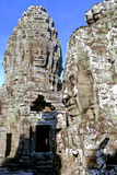 temple du Cambodge de bayon Images stock