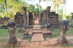 Temple du Cambodge Siem Reap Image libre de droits
