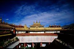 Temple du DA Zhao dans Lassa Images libres de droits