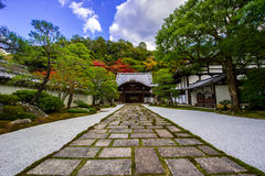 Temple du Japon. Images stock