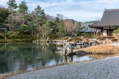 Temple du Japon Tenruji photographie stock libre de droits