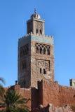 Temple du Maroc Photo libre de droits