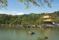 Temple du pavillon d'or à Kyoto, Japon Photographie stock libre de droits