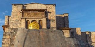 Temple du Sun, Cusco, Pérou images stock