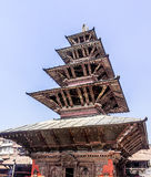 Temple at Durbar square Stock Photo