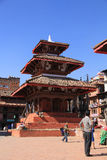 A temple in Durbar Square 2 Stock Photos