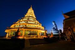 Temple at dusk, Chiang rai Royalty Free Stock Photography
