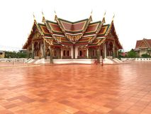 Temple earthenware. Temple in earthenware Royalty Free Stock Photos