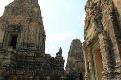 Temple East Mebon in Angkor Royalty Free Stock Photo