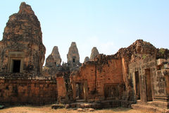 Temple East Mebon in Angkor Royalty Free Stock Image