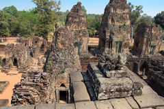 Temple East Mebon in Cambodia Royalty Free Stock Image