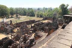 Temple East Mebon in Cambodia Stock Photography